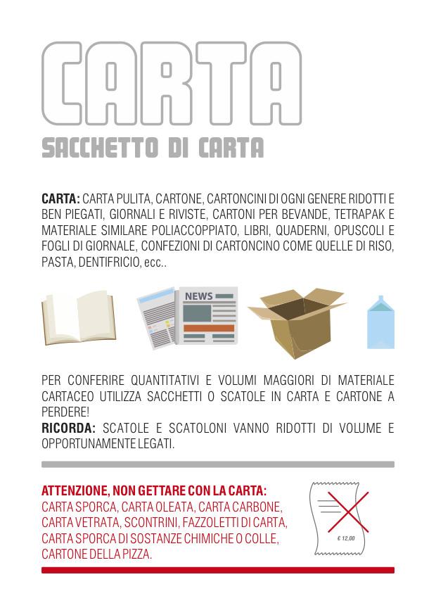 Cosmari - Carta